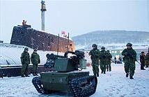 [ẢNH] Nga huy động chiến binh đặc biệt bảo vệ căn cứ tàu ngầm