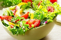 Rau xanh giúp tăng cường tiêu hóa, ngăn chặn vi khuẩn gây bệnh