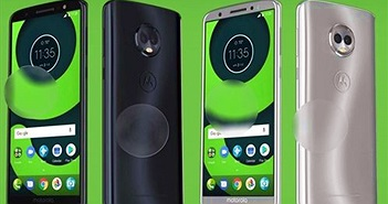 Moto E5 Plus lộ ảnh thực tế: camera kép, màn hình 18:9