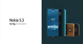 Nokia 5.3 tầm trung và Nokia 1.3 giá rẻ ra mắt: thêm lựa chọn giá từ 100 USD