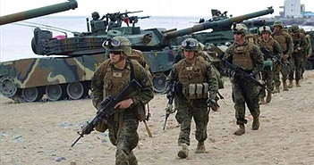 """Căn cứ quân sự Mỹ """"cắm chi chít"""" ở châu Á để """"bủa vây"""" Trung Quốc?"""