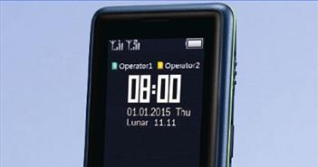 Điện thoại pin chờ gần 2 tháng của Philips