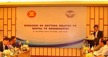 Việt Nam chia sẻ kinh nghiệm chuyển đổi truyền hình kỹ thuật số với các nước ASEAN