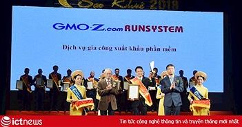 GMO-Z.com RunSystem được vinh danh tại Sao Khuê 2018