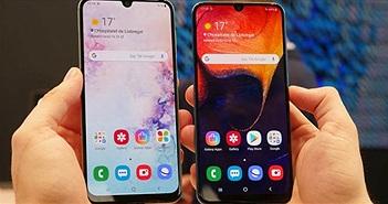 Dòng Galaxy A 2019 của Samsung đang bán rất chạy