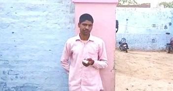Người đàn ông Ấn Độ tự chặt ngón tay sau khi bỏ phiếu cho nhầm đảng
