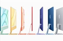 Apple công bố iMac mỏng hơn, dùng chip M1 và có tới 7 màu sắc nổi bật