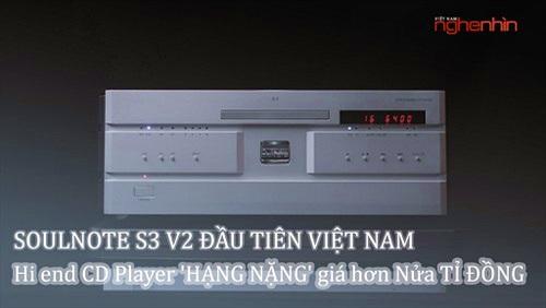 SoulNote S-3 Ver2 - Sở hữu chassis và cơ chế chống rung ultra hi-end, cho âm thanh gần với vinyl