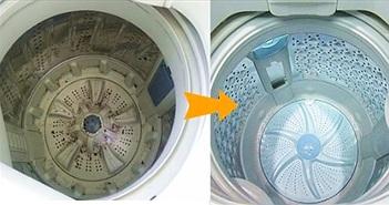 Đem giấm đổ vào máy giặt, mang lại lợi ích to đùng