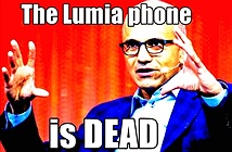 Smartphone Microsoft Lumia đã … chết?