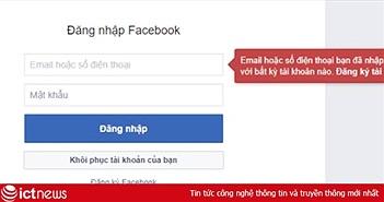 Cách khôi phục tài khoản Facebook khi bạn quên mật khẩu