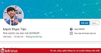 """3 người Việt được Facebook vinh danh top 100 """"cao thủ"""" bảo mật toàn cầu"""