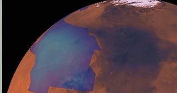 Bí ẩn những đám mây kẹo bông trên sao Hỏa