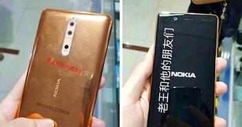 Nokia 8 màu vàng đồng lộ diện