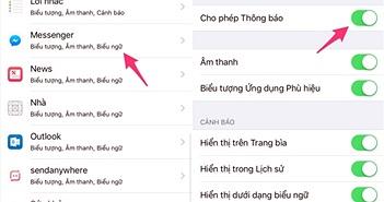 5 mẹo hay khi sử dụng Messenger trên iPhone