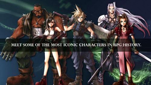 Game Final Fantasy VII đồ họa siêu đẹp có mặt trên iPhone