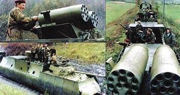 Choáng ngợp tàu hỏa bọc thép của Quân đội Nam Tư