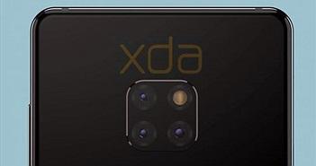 Huawei Mate 20 có 3 camera độc lạ, màn hình giọt nước, chip Kirin 980