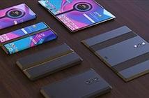 Tuyệt phẩm thiết kế điện thoại Xiaomi gập lại với 3 camera sau