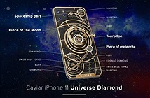 iPhone 11 phiên bản độ kim cương, hồng ngọc giá 50.000 USD