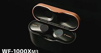 Sony WF-1000XM3: Thiết kế sang trọng, pin khỏe, chống ồn tốt, đáng mua trong phân khúc 5 triệu đồng