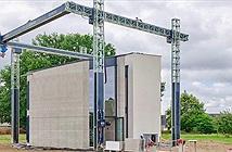 Chỉ với một lần in, máy in 3D lớn nhất Châu Âu vừa cho ra lò nguyên một ngôi nhà 2 tầng rộng 90m2