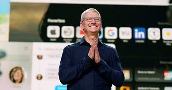 Apple là công ty Mỹ đầu tiên vượt mốc 2 nghìn tỷ USD