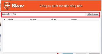 """Tải Bkav Ransomware Scan miễn phí để chống virus """"tống tiền"""""""