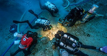 Phát hiện di cốt 2.000 năm tuổi trong con tàu đắm ở Địa Trung Hải