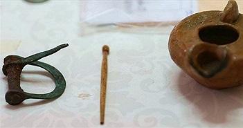 Hiện vật cửa hàng, kho hàng hàng ngàn năm được tìm thấy ở Thổ Nhĩ Kỳ