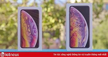 Hàng loạt video mở hộp iPhone Xs và Xs Max được phát tán trên mạng trước ngày bán ra
