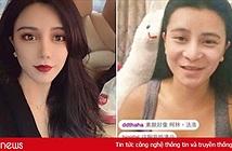 Vô tình tắt app làm đẹp, hot girl lộ mặt mộc khác xa ảnh đăng mạng