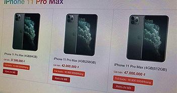 iPhone 11 không bị hét giá trong ngày đầu về Việt Nam