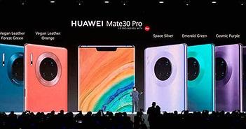Huawei ra mắt dòng sản phẩm Mate 30/30 Pro, giá từ 20 triệu đồng