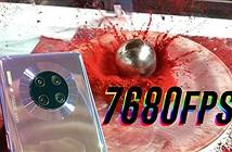 Mate 30 Pro quay 1 giây thôi đủ để phát 2 phút, slow motion 7680 fps
