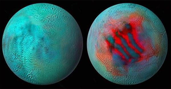 Bằng chứng băng tồn tại trên Mặt trăng sao Thổ