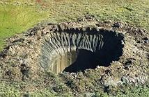 Miệng núi lửa khổng lồ tiếp tục xuất hiện tại Siberia