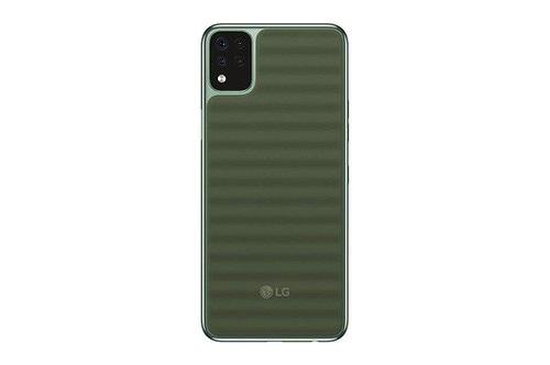 LG Q42 ra mắt: smartphone giá rẻ chuẩn quân đội Mỹ, mặt lưng lạ mắt