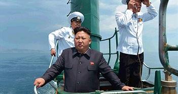 """Tàu ngầm khủng nhất Triều Tiên là hàng """"made in China""""?"""
