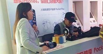 Nhà mạng Trung Quốc nới túi quần cho khách mua iPhone 6 Plus