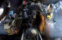 iPhone 7 bất ngờ bốc cháy trong xe gây thiệt hại nặng
