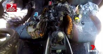 iPhone 7 phát nổ, phá hủy xe hơi như Note 7
