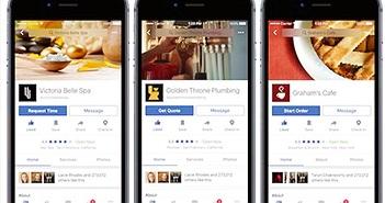 Facebook ra loạt tính năng hỗ trợ người dùng ăn chơi, du lịch