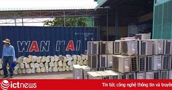 Phát hiện hàng nghìn máy điều hòa nhập lậu từ Nhật Bản