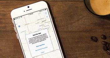 Cách chặn yêu cầu đánh giá ứng dụng trên iPhone, iPad