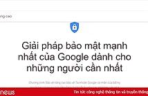 Google cảnh báo các chính trị gia nên đề phòng tài khoản cá nhân bị tấn công