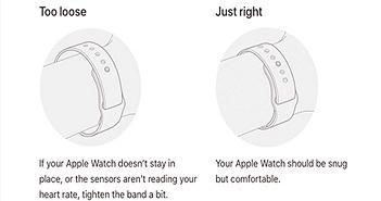 Apple hướng dẫn người dùng cách đeo Apple Watch