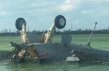 Ong bắp cày F/A-18E Super Hornet của Mỹ rơi khi tập trận