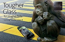 Kính Gorilla Glass 4 bền gấp đôi thế hệ thứ 3