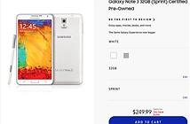 Samsung mang hàng cũ ra bán tại Black Friday